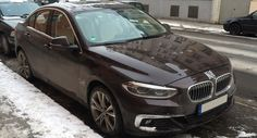China's BMW 1-Series Sedan Mysteriously Hits The Streets Of Munich