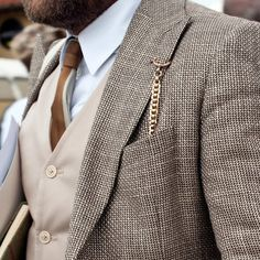 Pocket watch and vest. Nice!