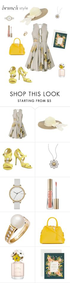 """Happy Mother's Day 🌼"" by california-cheerleader ❤ liked on Polyvore featuring Jimmy Choo, Roberto Coin, Skagen, Too Faced Cosmetics, Cartier, Maison Margiela and Marc Jacobs"