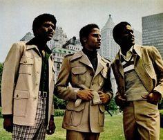Black men in the Seventies