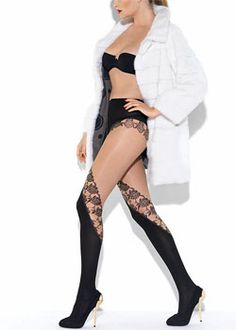 6dc81e1cd Le Bourget Obstination Tights In Stock At UK Tights