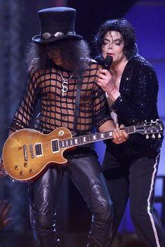 Michael Jackson and Slash Jackson Music, Mike Jackson, Guns N Roses, Lady Gaga, Michael Jackson 30th Anniversary, 30 Anniversary, Heavy Metal, Saul Hudson, Chris Tucker