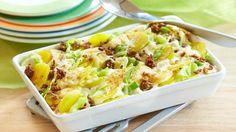 Ein Gericht für die ganze Familie: Unser Spitzkohl-Hack-Auflauf lässt sich wunderbar vorbereiten und dann einfach im Ofen zubereiten.