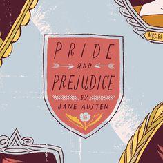 pride + prejudice | anne benjamin illustration