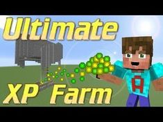 Minecraft XP Farm | How to make an XP Farm | Minecraft Mob Grinder lets build | Minecraft Tutorial - YouTube