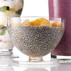 What can you make with CHIA SEEDS? Try smoothies or this yummy clementine pudding | health.com