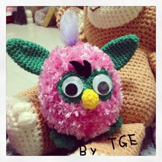Furby crochet made by TGE @ Thailand.