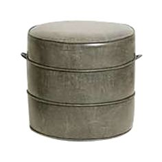 Buy NK Hassock Ottoman | Small by Nickey Kehoe - Made-to-Order designer Furniture from Dering Hall's collection of Contemporary Stools, Ottomans & Poufs.