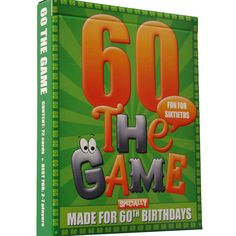 The 60th Birthday Game is a new card game that's designed as a great little gift…