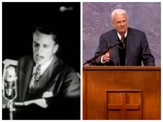 In 1949, Billy Graham gave his first public speech during crusade in Los Angeles.