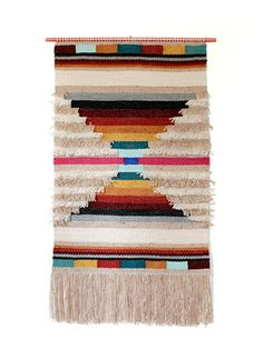 Yesvincent Tapestry Weaving by Rose Jensen-Holm Weaving Loom Diy, Weaving Art, Tapestry Weaving, Wall Tapestry, Hand Weaving, Navajo Weaving, Weaving Wall Hanging, Weaving Textiles, Weaving Projects