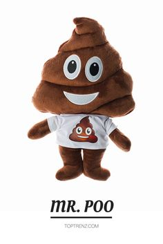 Meet Mr. Poo!!  one of our new #emojicon #dolls and our #favorite #holidaygift of the season!