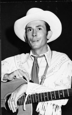 Hank Williams Sr. Gotta love the roots of country music. :)