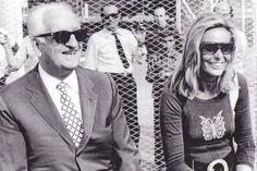Enzo Ferrari e Fiamma Breschi