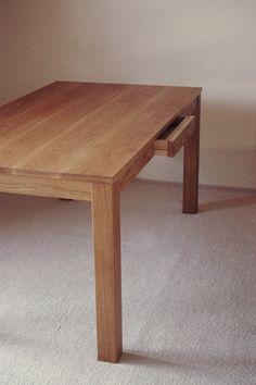 ナラ無垢ダイニングテーブル| Dining table 905 | 無垢を基本としたオリジナル・オーダー・家具屋|BUDDING FURNITURE|関西大阪|ナラ・オーク・クルミ