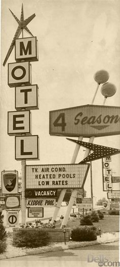Midwest Googie - Wisconsin Dells, WI ~ This sign still stands in all it's glory.  :)