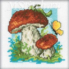 boletus/cross stitch - Google-haku