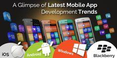 A Glimpse of Latest Mobile App Development Trends!!