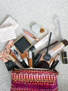 My current makeup bag
