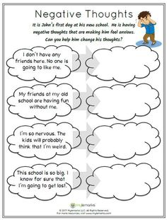 What Can I Control: A simple visual activity for students