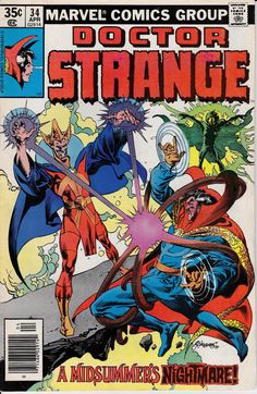 Doctor Strange 1974 2nd Series 34 April 1979 Issue by ViewObscura, $1.00