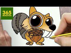 COMO DIBUJAR SID KAWAII PASO A PASO - Dibujos kawaii faciles - How to draw a SID - YouTube