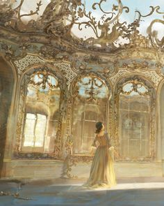 Beauty and the Beast (2017) Concept Art by Karl Simon Disney Illustration, Illustrations, Disney Concept Art, Art Hoe, Beauty And The Beast, Renaissance, Vintage Fashion, Vintage Style, Animation