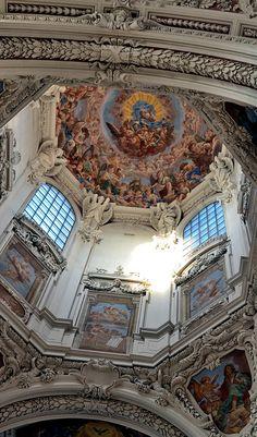 Cupola of St.Stephan's Cathedral, Passau Passau, Bavaria, DE