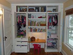 IKEA Hackers: Kids Built-In Wardrobe Closet