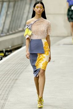 Michael Van der Ham SS/11: Clothing Collage