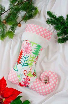 Personalized Christmas Stocking elf stocking  by sugarplumfaire, $55.00
