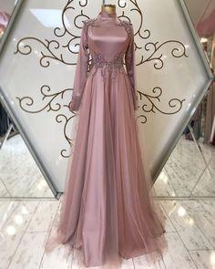 Dress Long Formal Open Backs - Dress Hijab Gown, Hijab Evening Dress, Hijab Dress Party, Muslimah Wedding Dress, Muslim Wedding Dresses, Evening Dresses For Weddings, Dress Wedding, Modest Dresses, Elegant Dresses