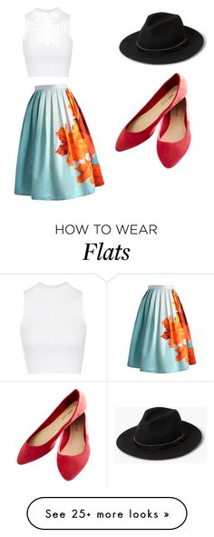 """""""Untitled #302"""" by owls165 on Polyvore featuring Chicwish, Topshop, MANGO and Wet Seal"""