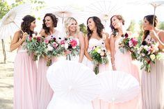 bride & bridesmaids Taber Ranch Wedding. Capay Valley, CA. Juliana Ljubisavljevic Photography
