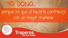 Cuidemos el medio ambiente mediante el uso razonable del agua, reciclando el papel y el cartón, teniendo mucho cuidado con los equipos electrónicos que contienen minerales contaminantes. Dona lo que ya no uses para que otras personas le puedan dar un segundo uso evitando generar mas desperdicios. Contátenos: Central: 258-3889 RPC: 943520010 Email: donaciones@traperosdesanpablo.org www.traperiasanpablo.org #Reciclaje #Donación #Ecología #Perú #Traperos #Traperia