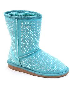 Love this Blue Stud Boot on #zulily! #zulilyfinds