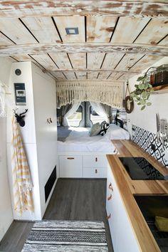 Liv — Curious Campervans Van Conversion Interior, Camper Van Conversion Diy, Van Interior, Camper Interior, Bus Living, Tiny House Living, Van Life, Build A Camper Van, Kombi Home