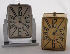 ART DECO clocks: Small DEP clocks