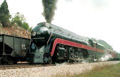 Norfolk & Western J Class Steam Locomotive #611