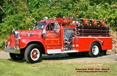 West Haverstraw, NY FD 1964 Mack B 1000 GPM Pumper.