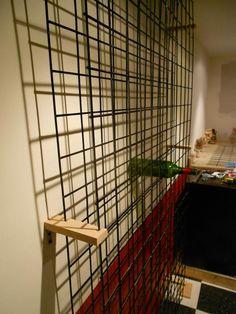 Goat fence wine rack