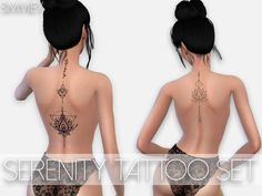 Simmiex's Serenity Tattoo Set