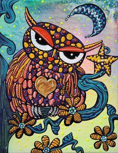 psychedelic sawhet owls? ) J'αιмє ℓ'αят Pinterest