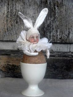easter egg de merel brocante
