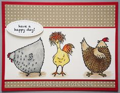 Hey Chick! SAB Sneak Peek by Cards4Ever - Cards and Paper Crafts at Splitcoaststampers