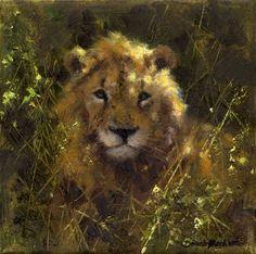 Shade on paper david shepherd Survival Shop, Lion Painting, Wildlife Paintings, Wildlife Nature, Modern Artists, Cat Drawing, Beautiful Paintings, Big Cats, Paintings