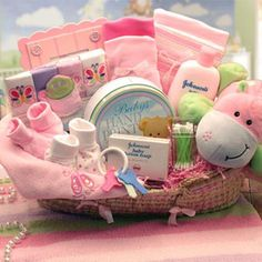 """""""Our Precious Baby"""" Gift Basket"""