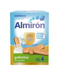Almirón galletitas sin gluten para bebes a partir del 4 mes #almiron #galletas #singluten #bebe