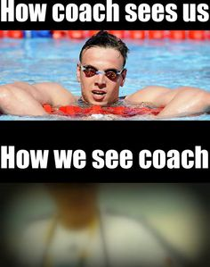 only a swimmer gets it