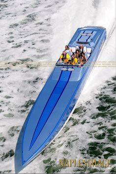 Cigarette powerboat
